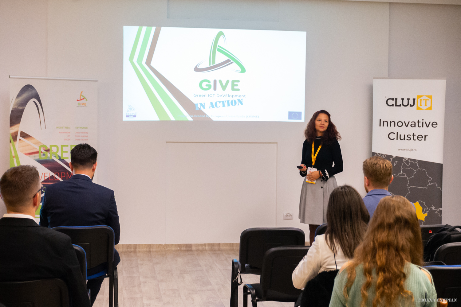 "AITA attended the sixth B2B event ""Shaping together a smarter and greener future"" within Green ICT Development – GIVE, held in Cluj-Napoca on 30th-31st October"