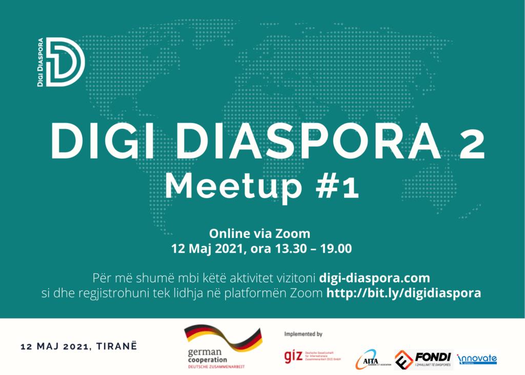 DIGI DIASPORA 2 Meetup #1 - 12 Maj 2021