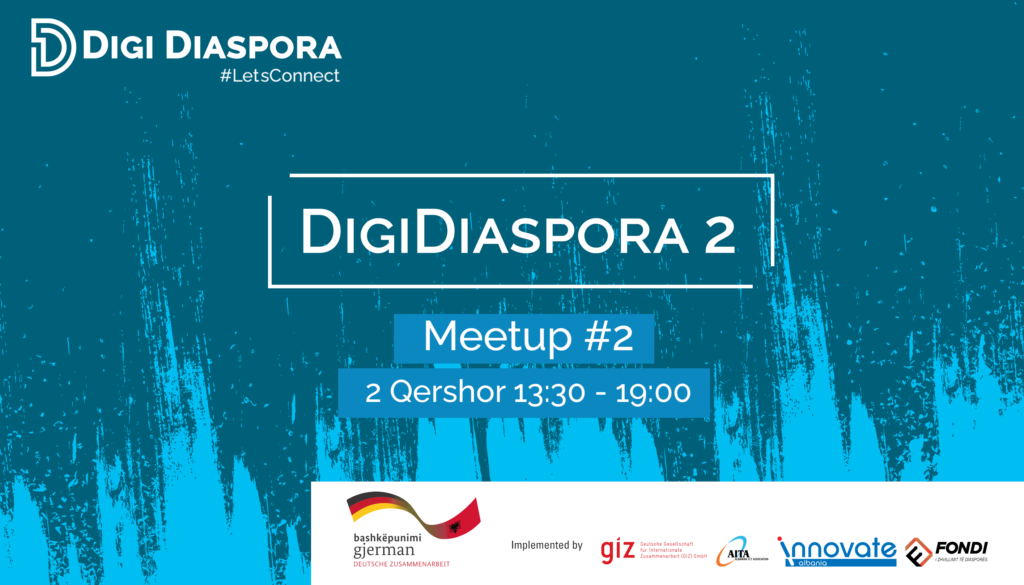 DIGI DIASPORA 2 Meetup #2 – 2 Qershor 2021