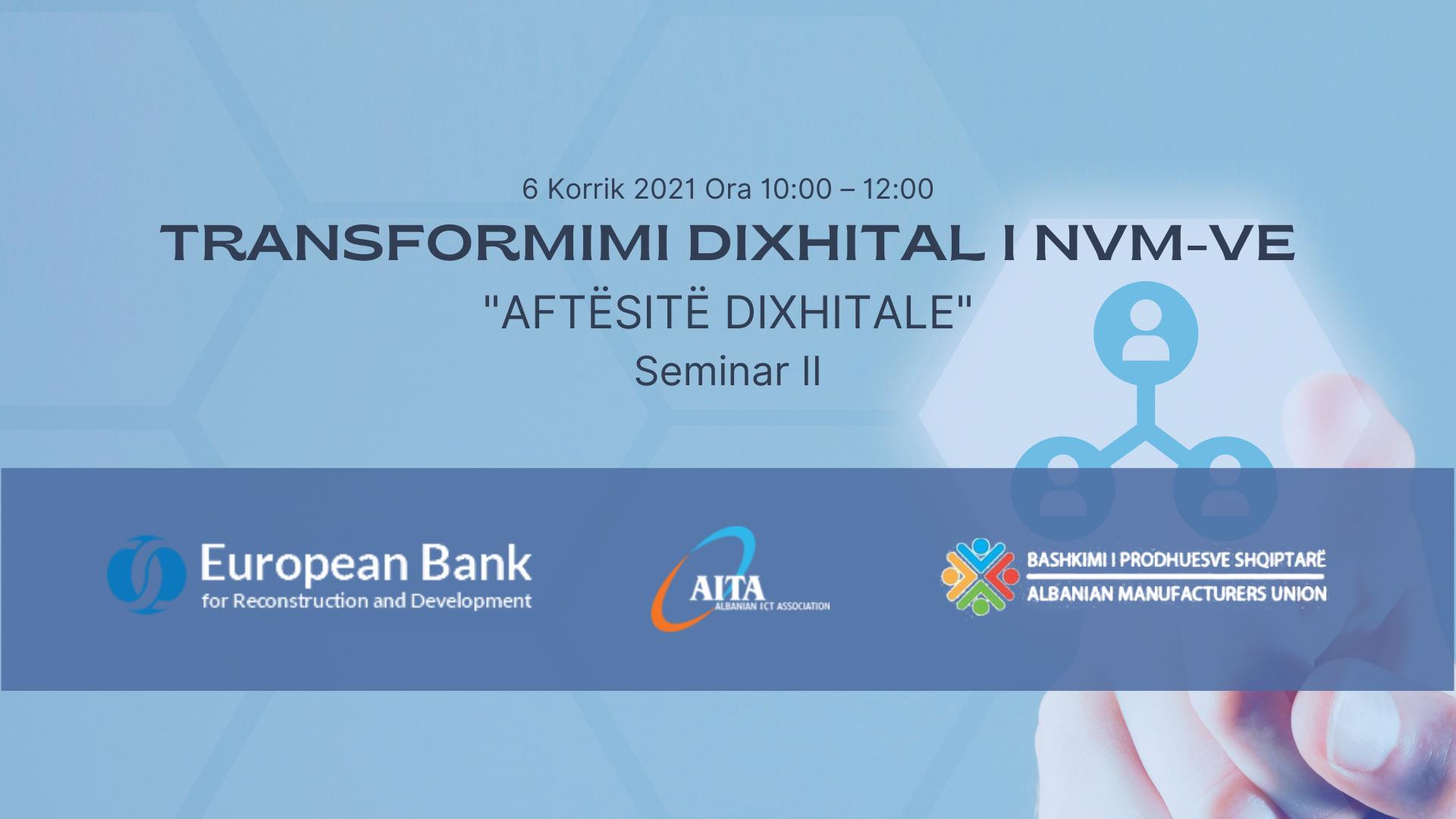 Aftësitë Dixhitale - Seminar II
